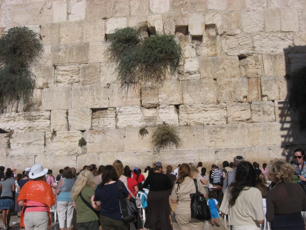 Western (Wailing) Wall in Jerusalem, Israel